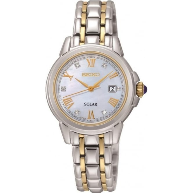 Seiko SUT244 Le Grand Sport Ladies Solar Diamond Watch