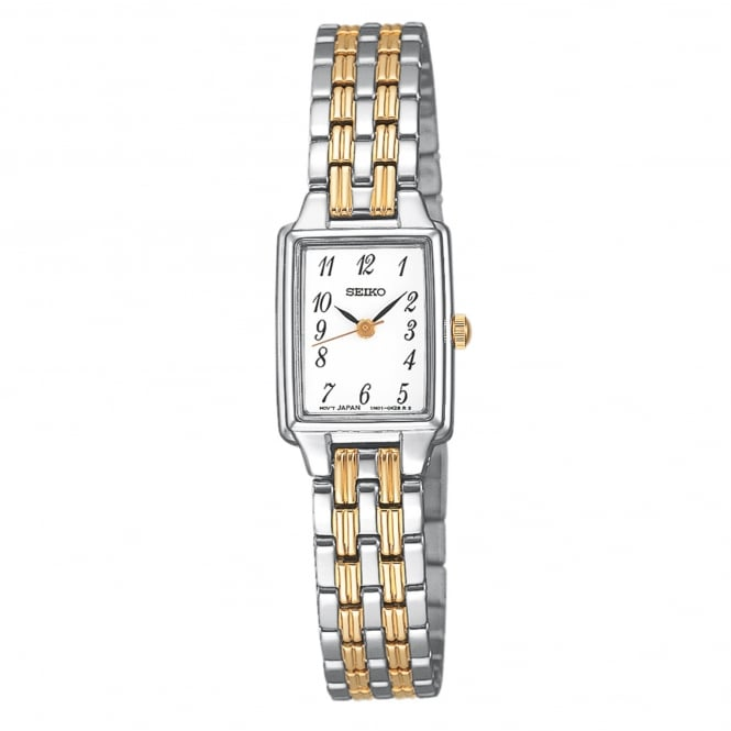 Seiko SXGL61P9 Gold & Silver Stainless Steel Ladies Watch