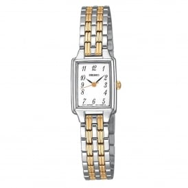 SXGL61P9 Gold & Silver Stainless Steel Ladies Watch