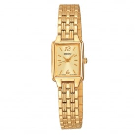 Seiko SXGL62P9 Gold Stainless Steel Ladies Watch