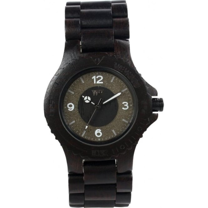 WeWood Sirio Black Unisex Wooden Watch WSBLAC