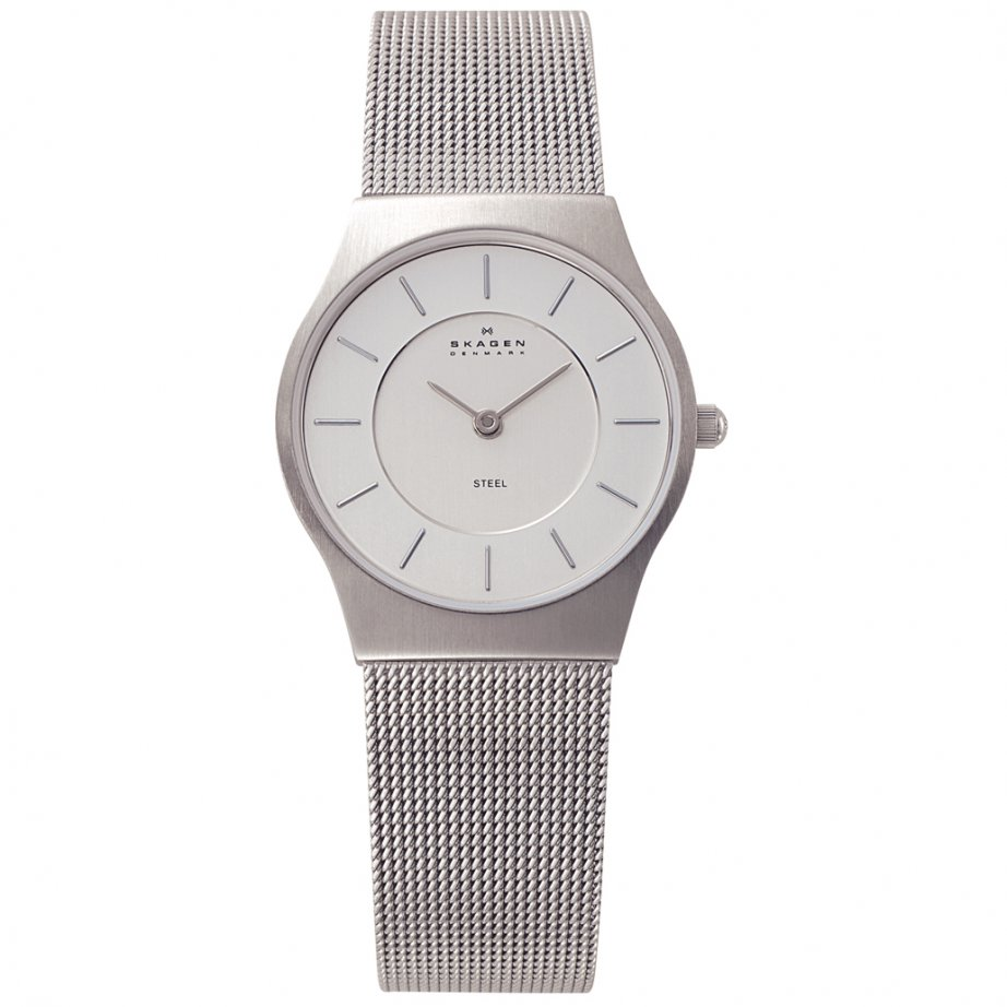 skagen watches 233sss silver womens watch buy skagen