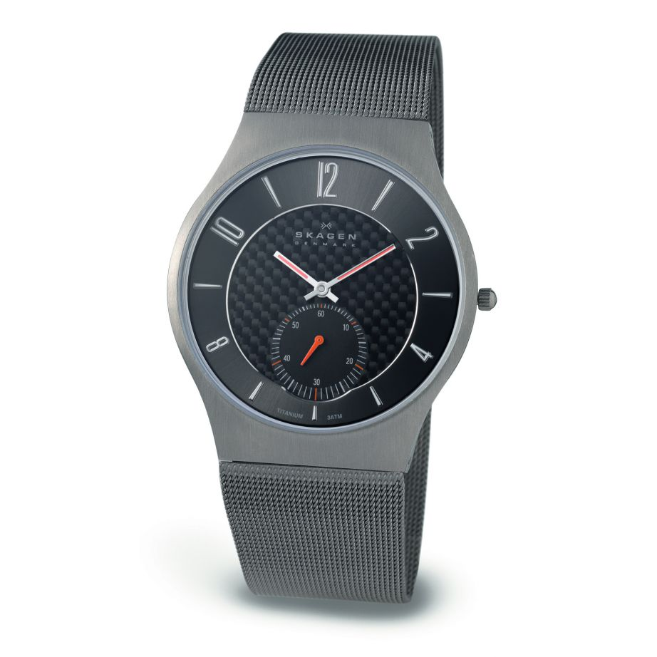 skagen watches 805xlttm titanium mesh mens buy