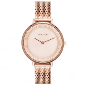 SKW2334 Ditte Rose Gold Mesh Ladies Watch