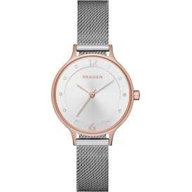 SKW1069 Anita Rose Gold & Silver Mesh Ladies Watch