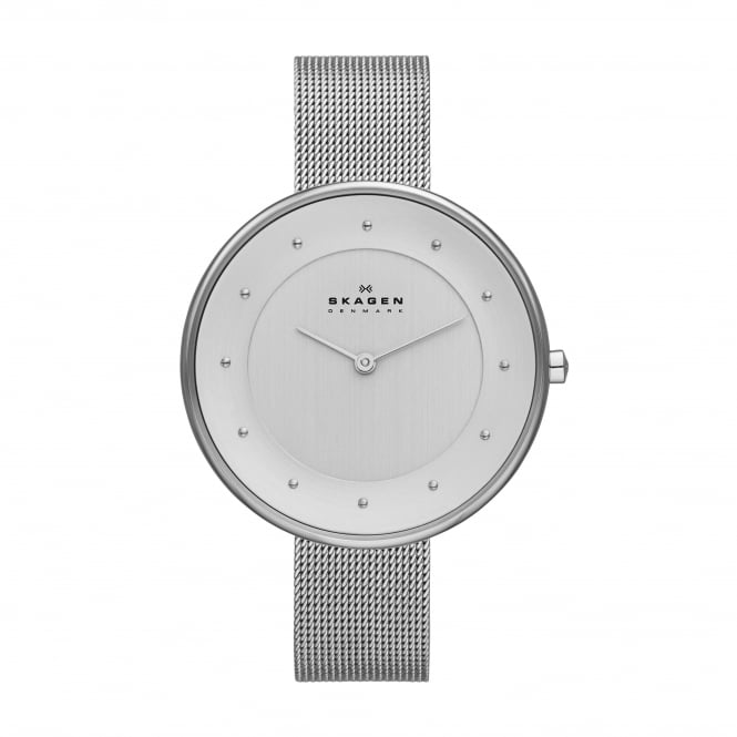 Skagen SKW2140 Gitte Silver Mesh Ladies Watch