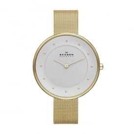 SKW2141 Gitte Gold Mesh Ladies Watch