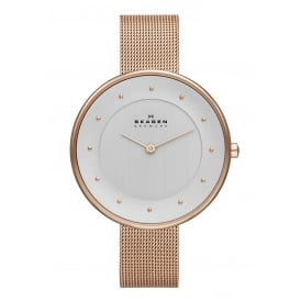 SKW2142 Gitte Rose Gold Mesh Ladies Watch