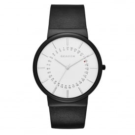 SKW6243 Ancher White & Black Leather Men's Watch
