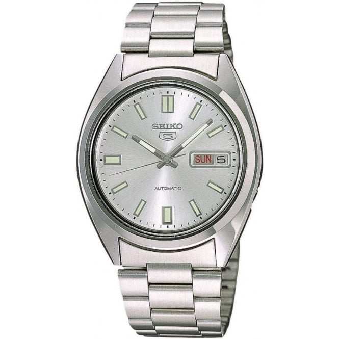 Seiko 5 SNXS73K Men's Silver Automatic Watch