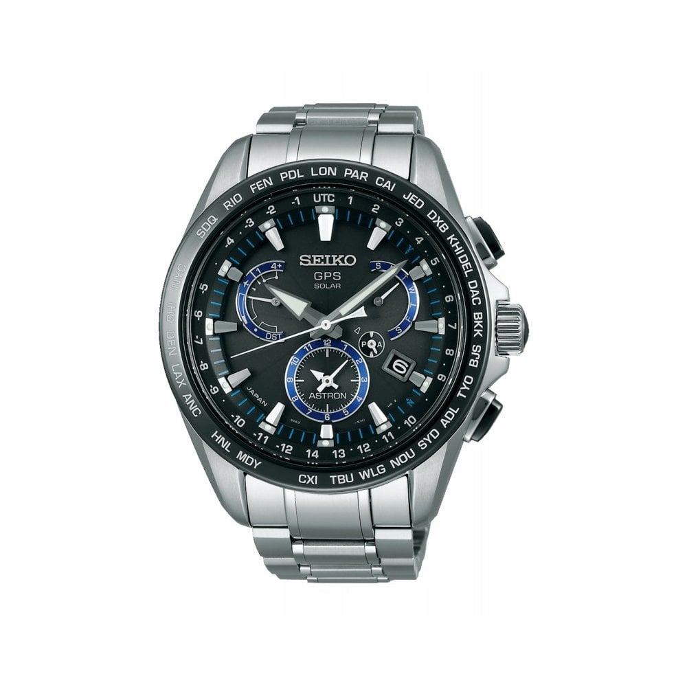 95e3c0510 Buy The SSE101J1 Seiko Astron Solar Powered Stainless Steel Men's Watch