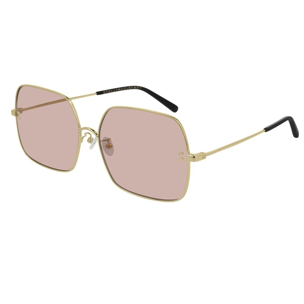 b067c69cb7 Stella Mccartney Sunglasses SC0158S 002 61 Essentials Pink and Gold  Sunglasses