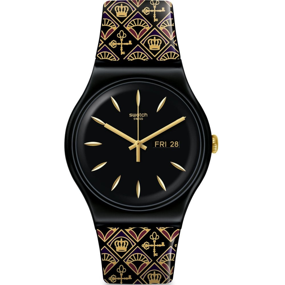 Swatch Knightliness SUOB730 Royal Key Watch available at Tic Watches