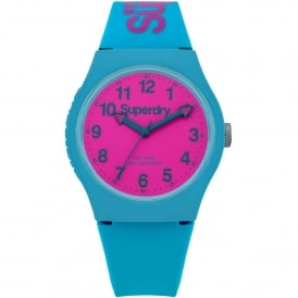 SYG164AUP Urban Pink & Blue Silicone Watch