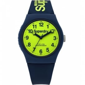 SYG164UN Urban Green & Navy Silicone Watch