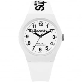 SYG164WW Urban Black & White Silicone Watch