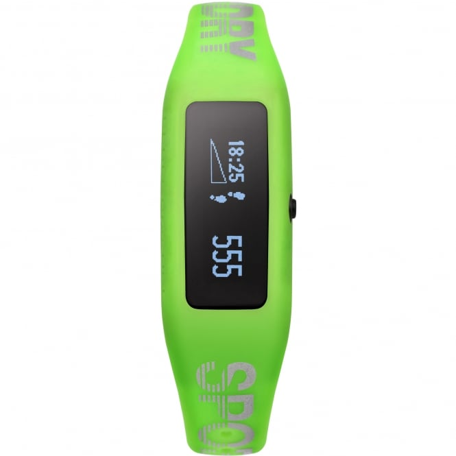 Superdry SYG202N White & Lime Green Silicone Fitness Tracker