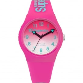 SYL198PN Urban Green & Pink Silicone Watch