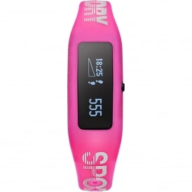 SYL202P White & Pink Silicone Fitness Tracker