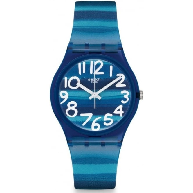 Swatch GN237 Swatch Linajola Gloss Plastic Watch