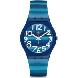GN237 Swatch Linajola Gloss Plastic Watch