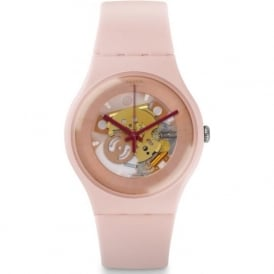 Swatch SUOP107 Shades Of Rose Nude Silicon Watch