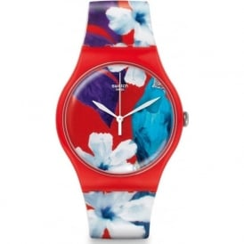 Swatch SUOR105 Mister Parrot Plastic Silicon Watch