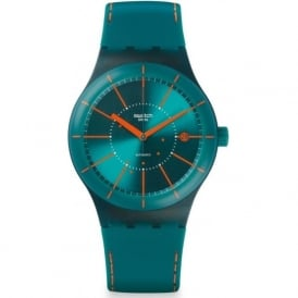 Swatch SUTG400 Sistem 51 Sistem Green Silicon & Plastic Automatic Watch