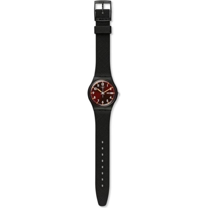 Swatch Swatch GB753 Sir Red Silicon Watch