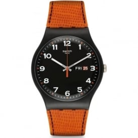 Swatch SUOB709 Faux Fox Silicon Watch