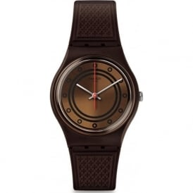 Swatch GC114 Schoggi Brown Watch