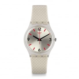 GE247 Perlato Grey Silicone Watch