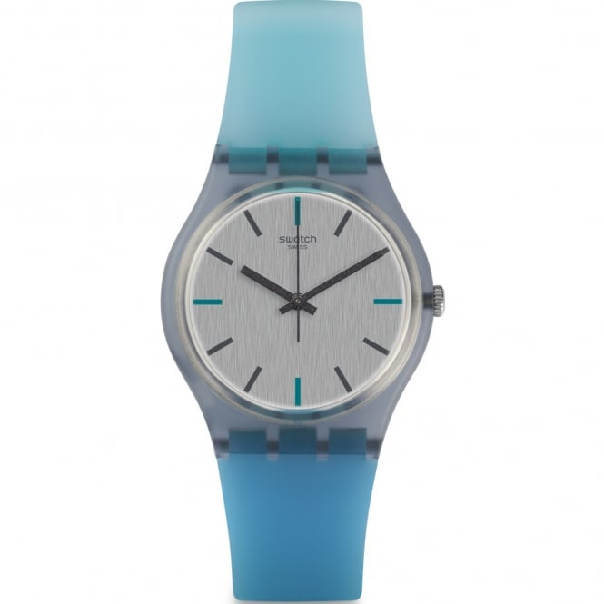 Swatch GM185 Sea-Pool Two Tone Silicone Watch
