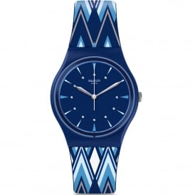 GN250 Pikabloo Blue Silicone Watch