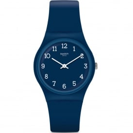 GN252 Blueway White & Blue Silicone Watch