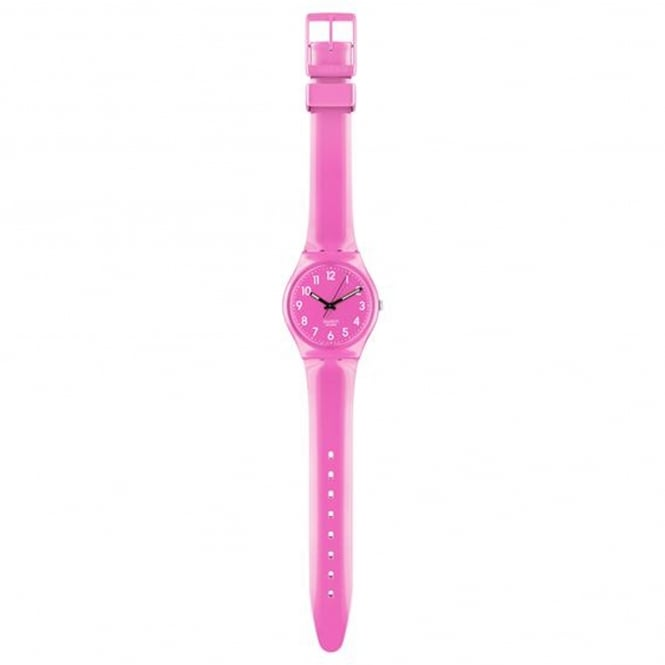 Swatch GP128K Dragon Fruit Soft Pink Silicone Watch
