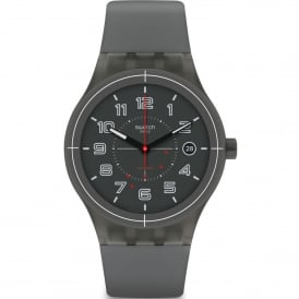 SUTM401 Sistem Ash Grey Silicone Automatic Watch