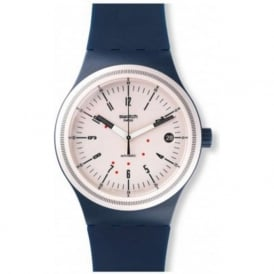 Swatch SUTN400 Sistem 51 Navy Automatic Watch