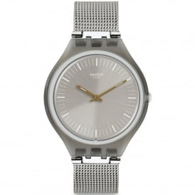 SVOM100M Skinmesh Silver Stainless Steel Skin Watch