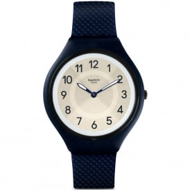 SVUN101 Skinnight Navy Silicone Skin Watch