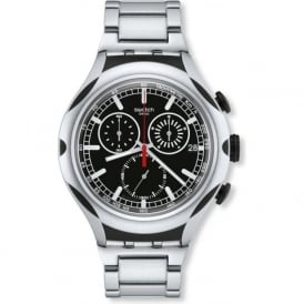 Swatch Black Energy YS4000AG Aluminium X-Lite Watch