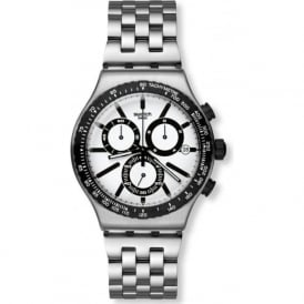 Swatch Destination Rotterdam YVS416G Stainless Steel Chronograph Watch