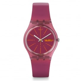 Swatch GP701 Sneaky Peaky Two Tone Silicone Watch