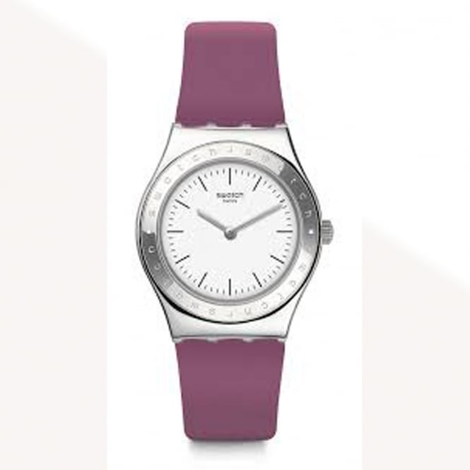 Swatch Swatch YLS204 Girl Dream Purple & Silver Watch