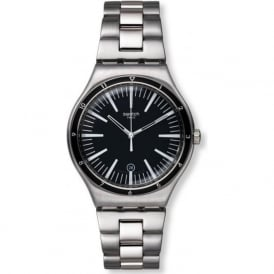 Swatch YWS411G Mire Noire Black Stainless Steel Watch