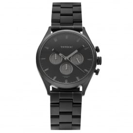 TY43 Canyon Black Stainless Steel Men's Watch