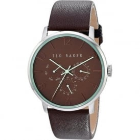 Ted Baker TE10023496 Green & Brown Leather Men's Watch
