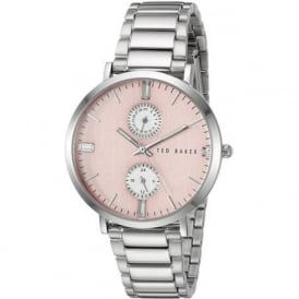 Ted Baker TE10024715 Pink & Silver Stainless Steel Ladies Watch