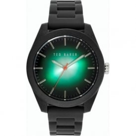 Ted Baker TE10024792 Black & Green Rubber Men's Watch