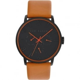 Ted Baker TE10023490 Men's Tan Leather Watch